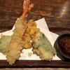 板蕎麦 山灯香 - 料理写真:天ぷら盛り合わせ(コース)