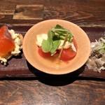 板蕎麦 山灯香 - 旬菜盛り(コース)