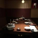 110419366 - 個室のテーブル