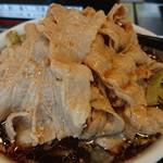 麺屋 団長 - 料理写真:黒醤油肉野菜大盛肉10枚♪