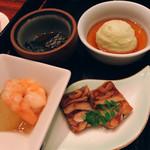 銀座ロビー - 前菜4種盛り合わせ