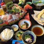 Banshou - お刺身定食