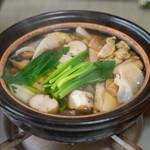 かたつむり - 2019.6 キノコ(ヤマドリタケ、ムラサキアブラシメジ、ヒラタケ、ショウゲンジ、シロキクラゲ)鍋