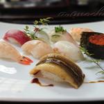 めおと寿司 - 料理写真:中にぎり