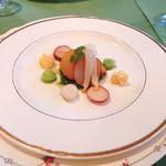 レザンヌ - 料理写真:魚介の燻製セルフィユ風味