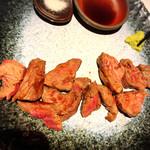 広島風お好み 鉄板焼き 友 - イチボステーキ