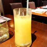 広島風お好み 鉄板焼き 友 - グレープフルーツジュース