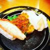 スシロー  - 料理写真:北海握り三貫  これは¥300