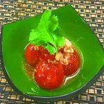 土風炉 夢町小路 - 料理写真:おつまみトマトの冷和アヒージョ