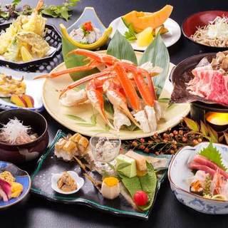 和食会席コースは各種宴会やお祝い、法事と幅広く利用頂けます。