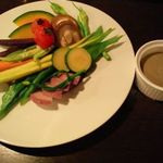 ブタノキノボリ - やんばる野菜のバーニャカウダ