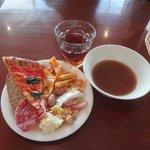 プレーツ&イート - ランチビュッフェ1,200円アールグレイ&オニオンスープ