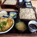 大むら - 料理写真:かつ丼セット 1,080円