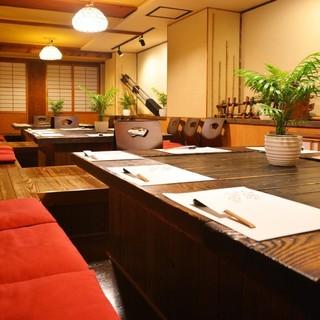 【半個室】ランチ・ご宴会・接待・ご家族で・・・