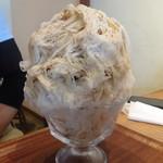吉岡茶房 - 料理写真:かき氷 カフェオレ