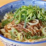 吉岡マグロ節センター - 豚マヨ丼