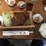 割烹 とんかつ松村 - 料理写真: