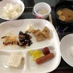 ビジネスホテル川しま - 料理写真:朝食 0円。