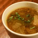 Osteria 吉田PASTA BAR - ランチのスープ