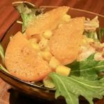 Osteria 吉田PASTA BAR - ランチのサラダ