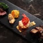 コンパーレ カッチョブー - 料理写真:おつまみ盛り合わせ