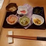 Umemiduki - 前菜