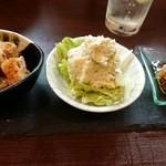 魚と日本のお酒 むく - 野菜料理の盛り合わせ 3種
