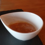 喫茶 紬 - 桃ソース