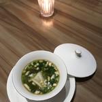 LUCIS GARDEN - 水餃子とパクチー