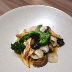 LUCIS GARDEN - イカと野菜のXO醤炒め