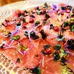 Dining kaze 池袋の風 - 鮮魚カルパッチョ