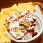 Dining kaze 池袋の風 - いぶりがっこクリームチーズ