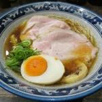 110488362 - 【(限定) 冷やし煮干そば】¥850