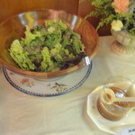 レストラン ベビーフェース - フリーのサラダ