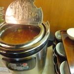 レストラン ベビーフェース - フリーのスープ