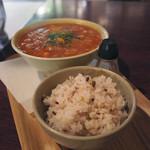 ひだまり - 野菜いっぱいのトマトスープ
