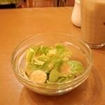 エル カフェ リコ - セットのサラダ