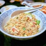 善道 - ☆蟹とレタスの炒飯(大)