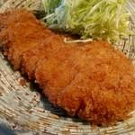 自然坊 - ロースカツ定食