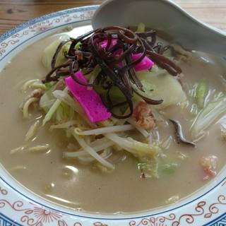 ふげん茶屋 - 料理写真:ちゃんぽん