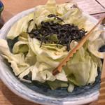 Mekikinoginji - めちゃ旨パリパリ塩キャベツ