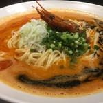 麺屋 愛心 - 料理写真:海老寿久担々麺
