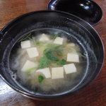 竹梅 - 味噌汁