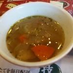フライングガーデン - スープ