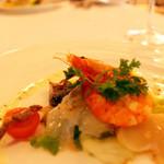 メインダイニング シーホース - 前菜«海の幸のサラダ仕立て ニース風»