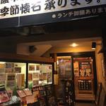 泳ぎいか・ふぐ・いわし・大阪懐石料理・遊食遊膳 笹庵 - 来ました!