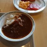 松阪シティホテル - 牛すじカレーとワンプレート
