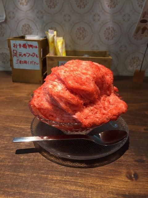 リュボン デ フリューティー アン カフェ - いちご 550円