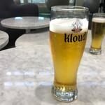 金浦国際空港 SKY HUB LOUNGE - 生ビール