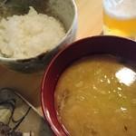 sakazukiyakaduchi - ご飯とお汁